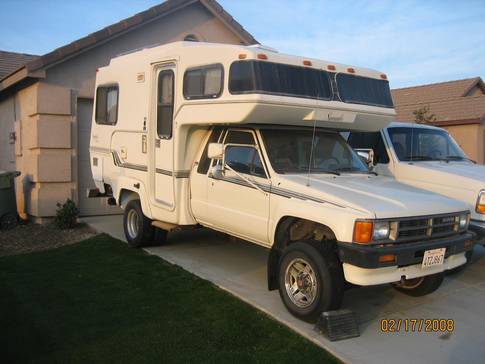 1986 Toyota 4x4 Motorhome For Sale   Autos Post