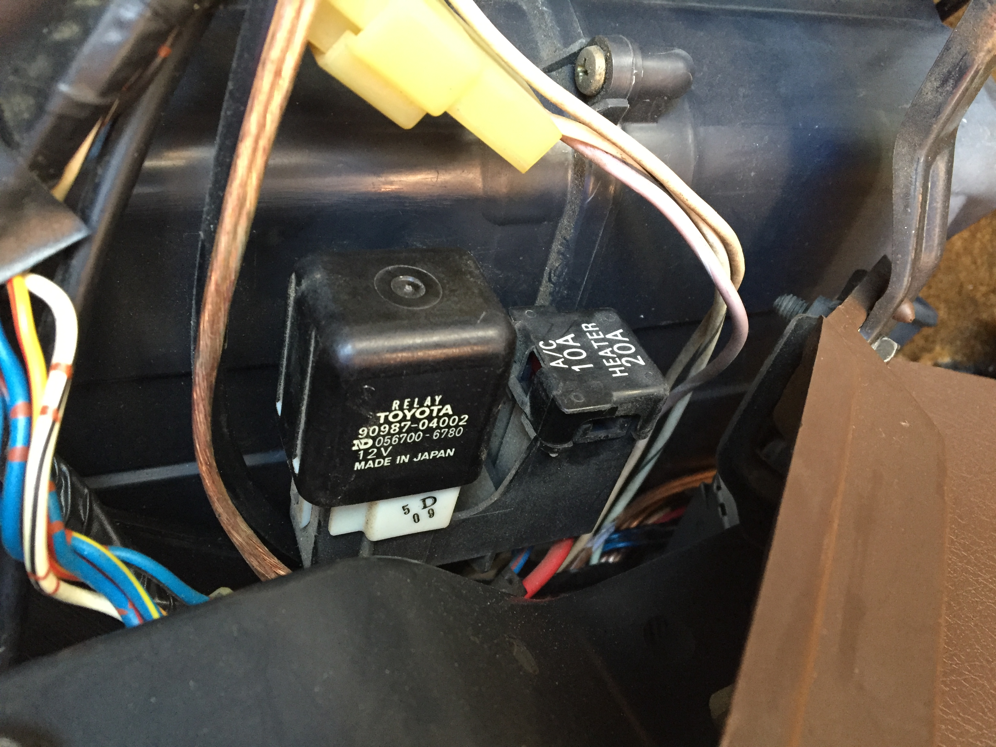 AC/Heat Blower in the cab stopped working - General Discussion ...