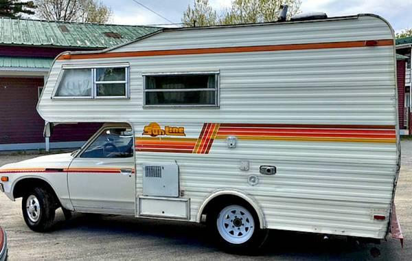 79 Datsun Sunline camper - Similar to Toyota - General