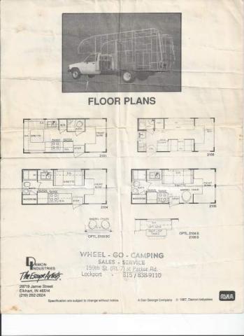Toyota Motorhomes Files & Manuals