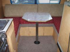 Dinette almost finished- Still need vinyl seat backs
