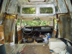 Inside the rv