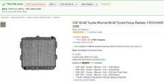 Amazon recommend CSF
