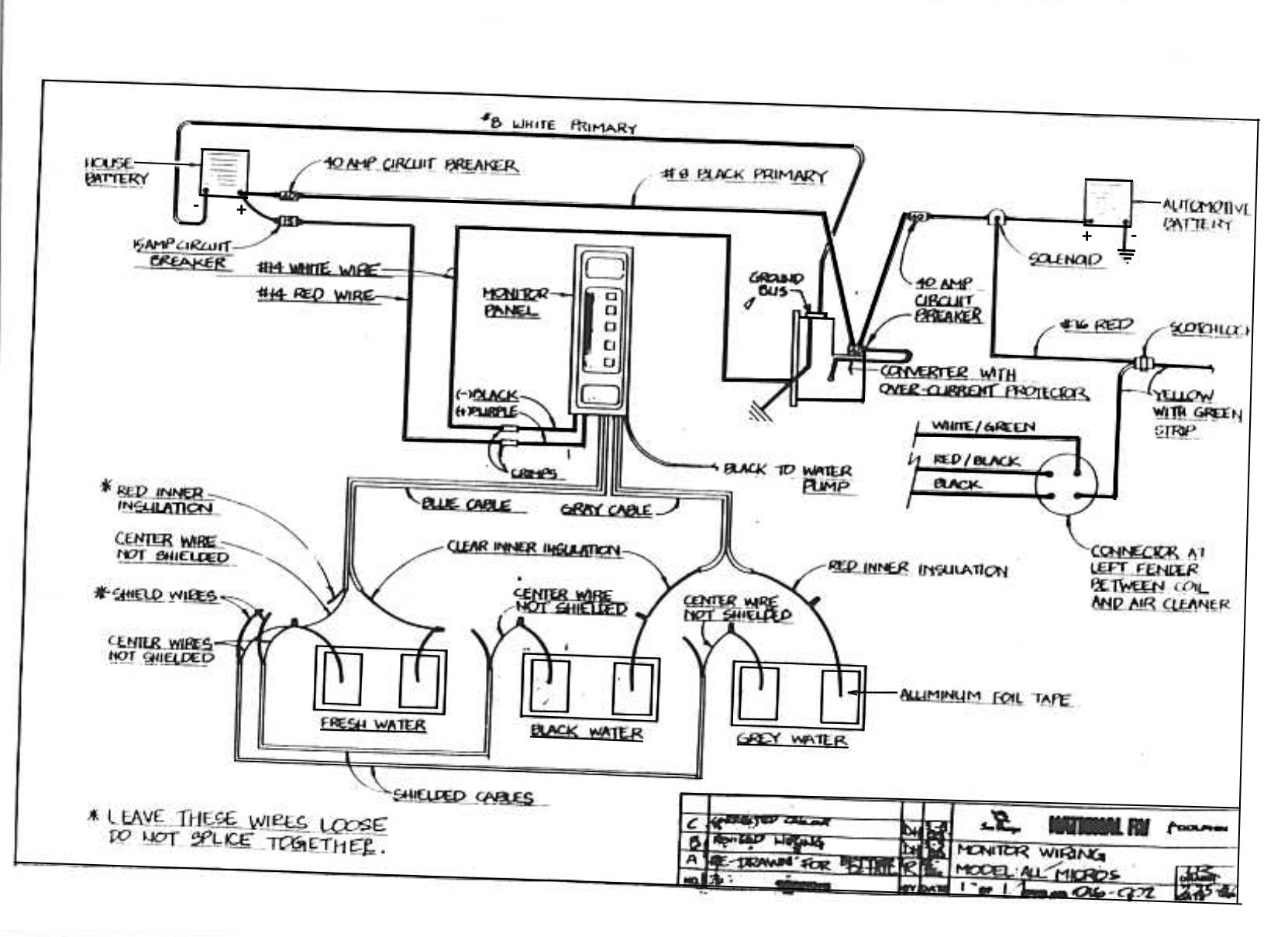 the dreaded sensor panel coach appliancetech issues Atwood RV Water Heater Wiring Diagram