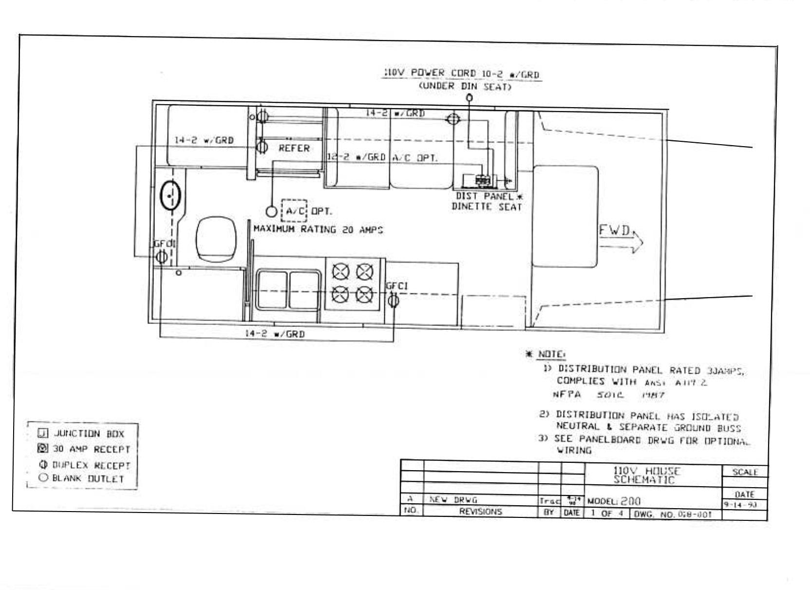 Dolphin Wiring Diagrams - Electrical - Toyota Motorhome Discussion Board