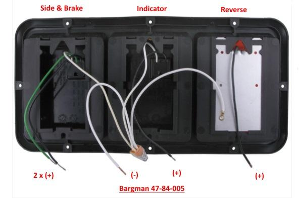 need help with fitting bargman led units  electrical