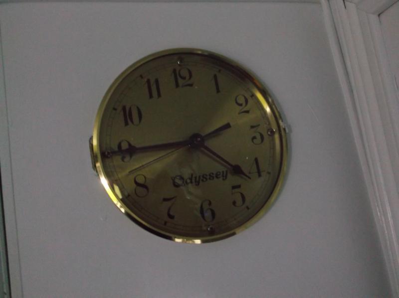 1990 Odyssey RV clock .JPG