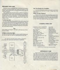 1979 Toyota Dolphin Owner's Manual Pg 2 and Pg 7