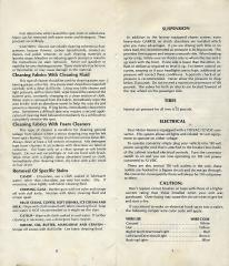 1979 Toyota Dolphin Owner's Manual Pg 1 and Pg 8