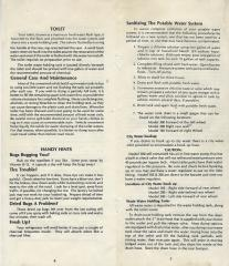 1979 Toyota Dolphin Owner's Manual-Pg 3 and Pg 6