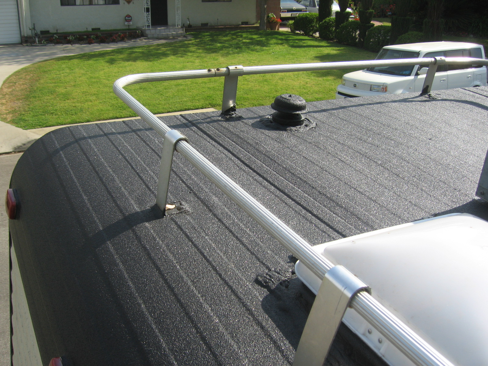 My New Roof Spray On Bed Liner General Discussion