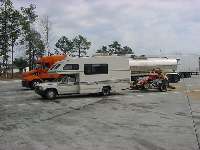 Original RVNet Open Roads Forum FifthWheels Carrying Kayak On A 5ver