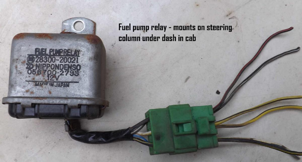 1975 Electric Fuel Pump Wiring Diagram