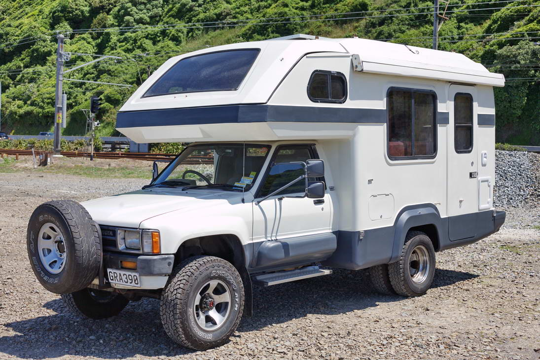 Ford Galaxy Camper Conversion >> Another Australian Dually Hilux Diesel 1988 4Wd - General ...
