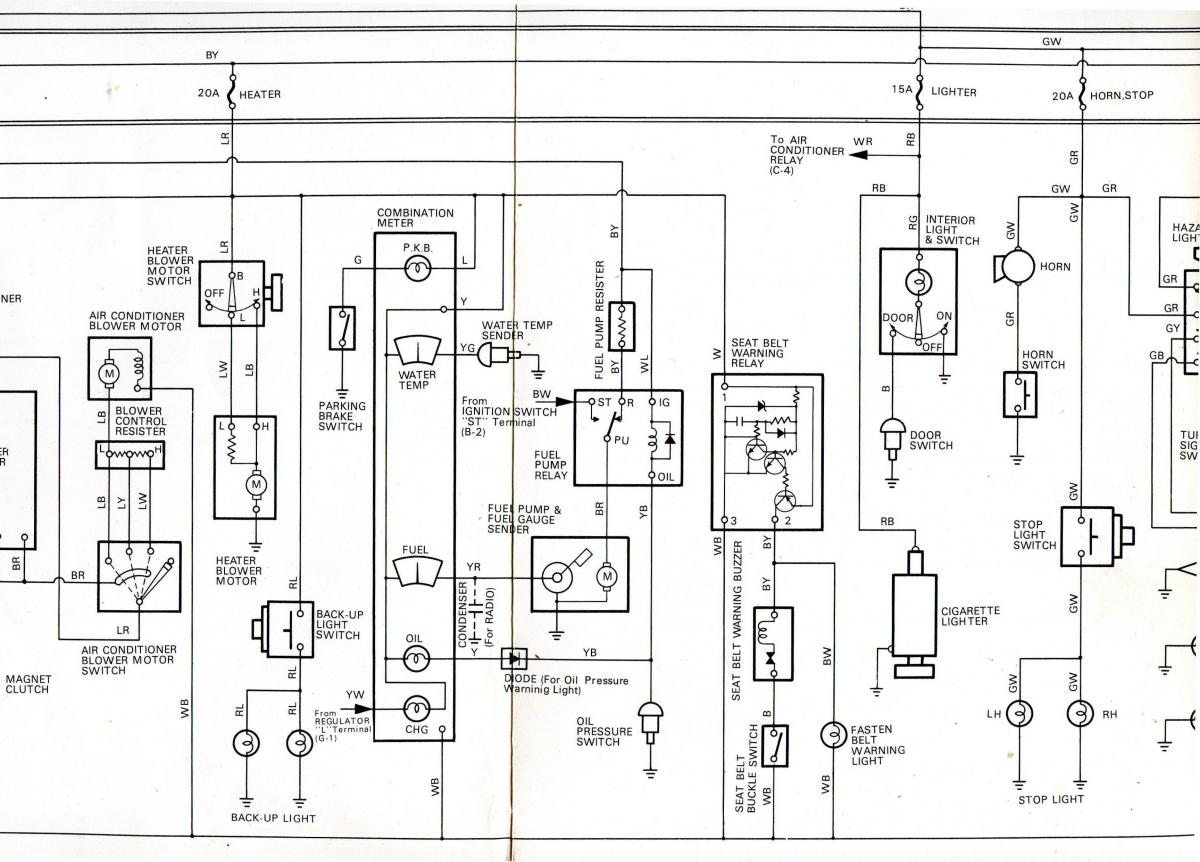 1978 complete factory wiring diagram