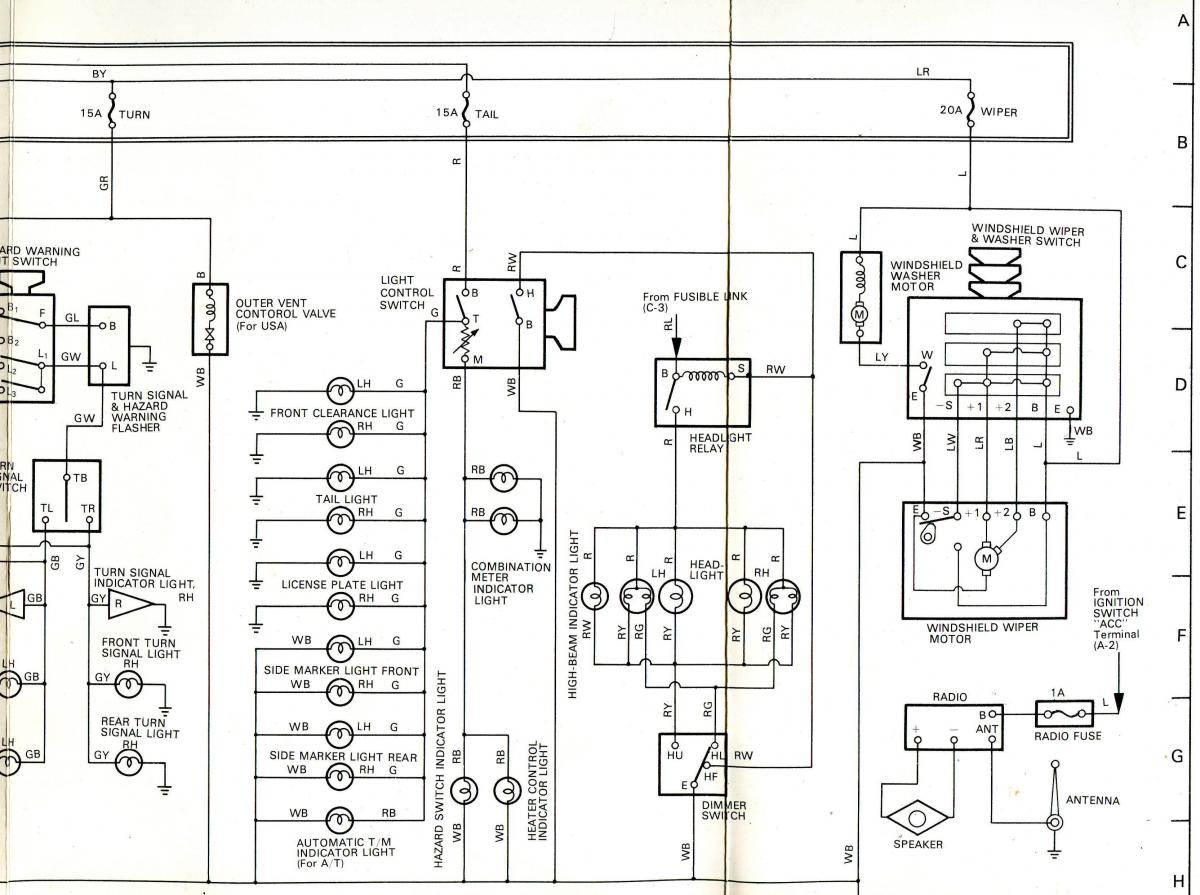 1978 gmc motorhome wiring diagram schematic 1978 yamaha dt250 wiring diagram schematic 1978 complete factory wiring diagram - general discussion - toyota motorhome discussion board