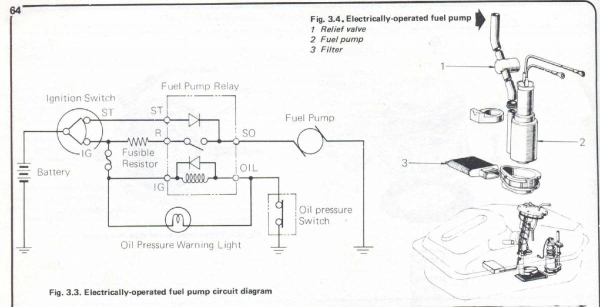 1975 Electric Fuel Pump Wiring Diagram - Electrical