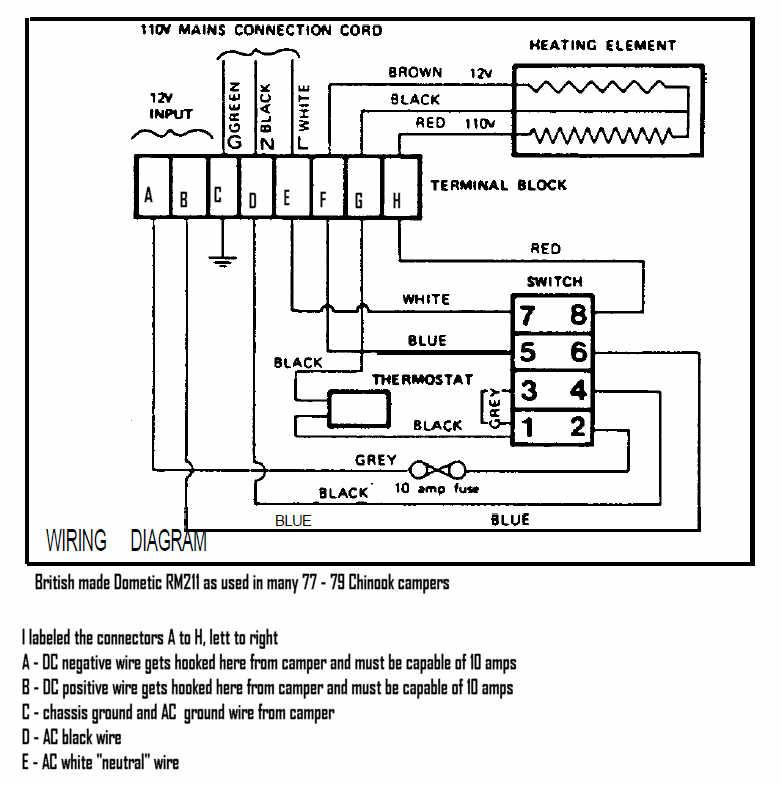 34 Dometic Thermostat Wiring Diagram