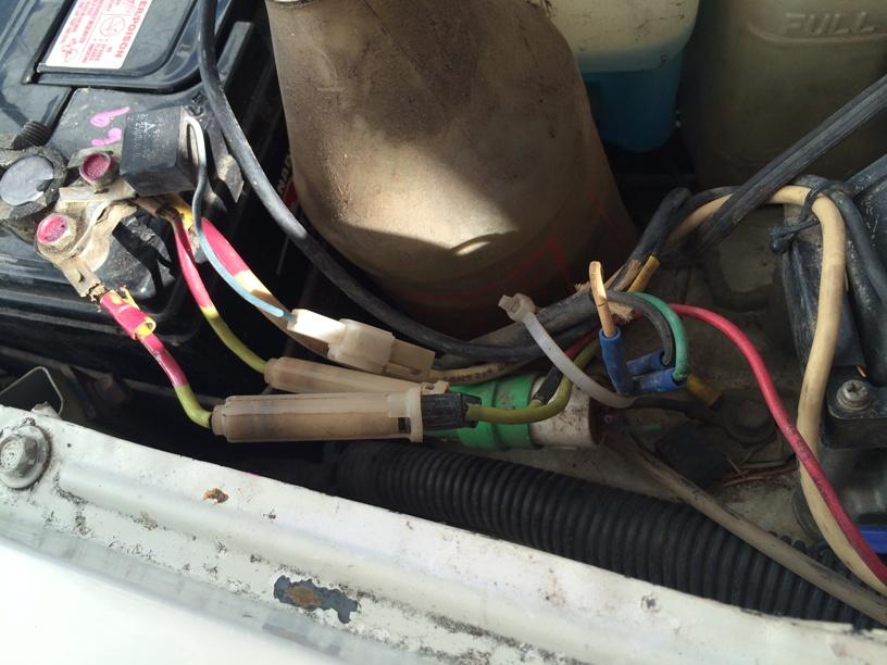 Alternator Wiring Hack   U0026 39 83 Dolphin - Electrical