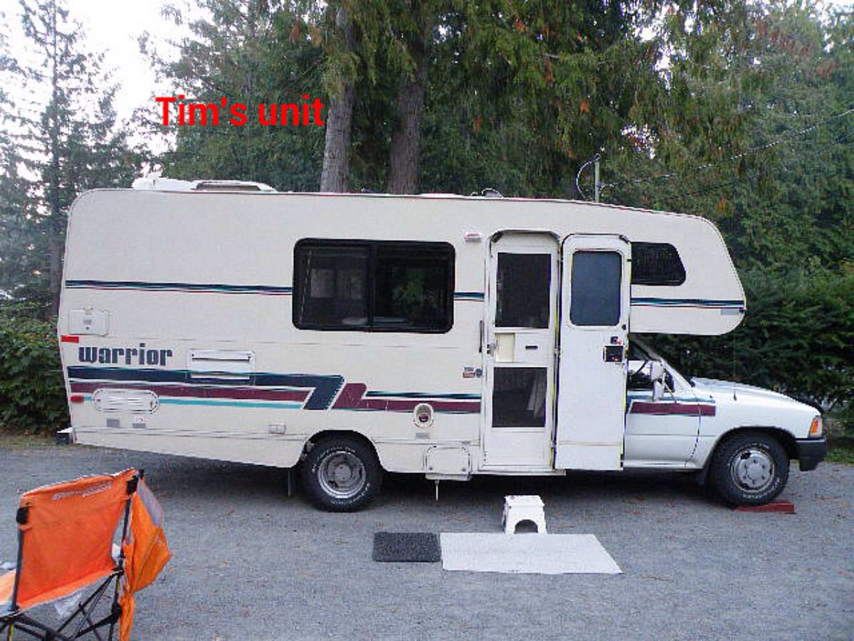 Creative 1982 Breaking Bad  Winnebago Chieftain 27rb South Nanaimo Parksville